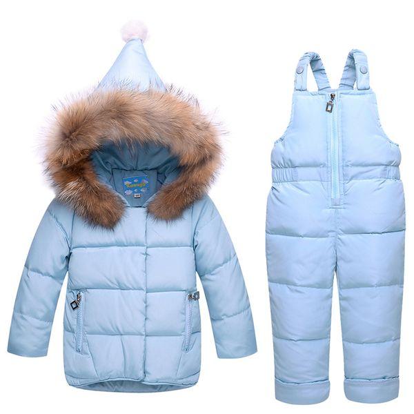 2018 new Winter children clothing sets girls Warm parka down jacket for baby clothes children's coat snow wear kids suit