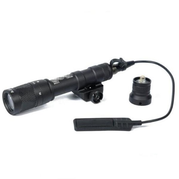 Tactical M600 M600V Scout Light Hunting Strobe Flashlight Gun For 20mm Weaver Picatinny Rail Base 1913 Mount