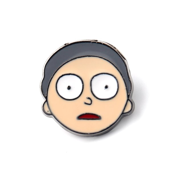 5d7f34f5b8973 2019 Rick And Morty Pins Interesting Specimen Enamel Pin Finger Brooches  Badges Enamel Pins Accessories Hat Tie Tack Brooch From Mingring002, $17.74  | ...