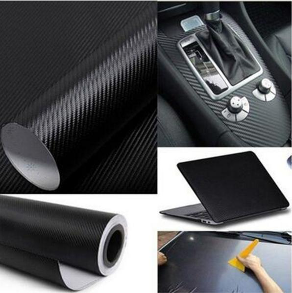 100PCS 127CM*20CM 3D Color Modification Film Car Interior Whole Vehicle Color Change Paste Color Change Fiber Sticker