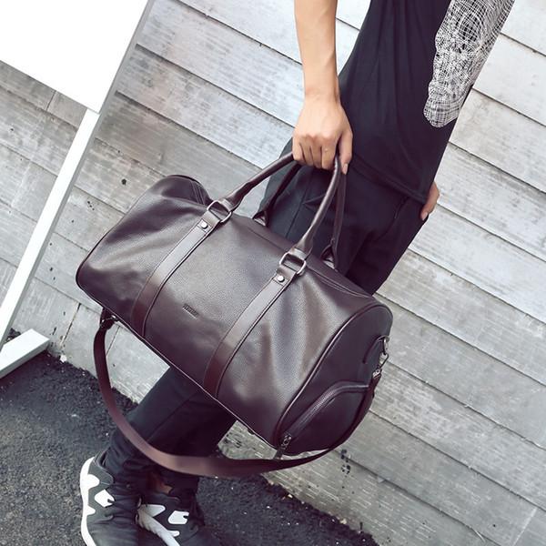 2018 Moda grande capacità Duffle Bag Tavel Borse Hangbags Totes PU di alta qualità per le donne uomini