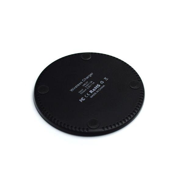 Nouveau chargeur de voiture chargeur ultra-mince sans fil QI charge rapide 10W de charge rapide ultra-mince avec la charge sans fil d'affichage