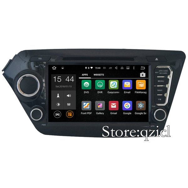 GPS Navigation System Car DVD Player for KIA K2 Rio 2010 2011 2012 2013 2014 2015 Radio RDS Stereo BT WiFi SWC map