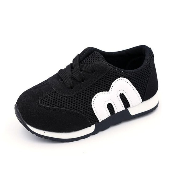 2019 M New Fashion Spring Summer Children Shoes Mesh Boys Girls Sandals Breathable Cut-outs Kids Sneakers Unisex EU 21-30