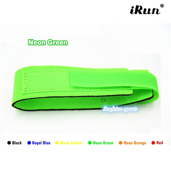 200pcs/lot~Racing Neoprene Hook and Look Strap Waterproof~Green Neoprene Timing Chip Bands for Racing Athletes~DHL FREE SHIPPING