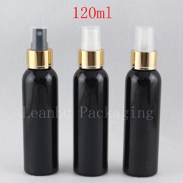 120ml X 40 Leer Schwarz Parfüm-Flasche mit Goldspray Pump nachfüllbar Parfüm-Flaschen 4 Unzen Farbige Sprayer Container Mist Spray