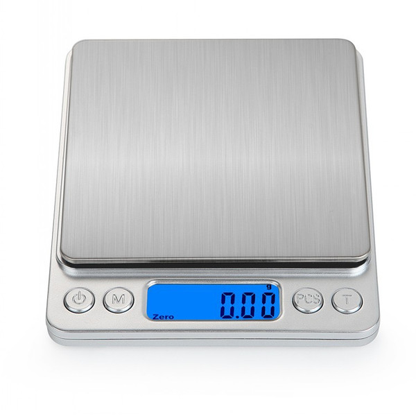 3000g/0.1g LED Electronic Digital kitchen Scales Portable Electronic Scales Pocket LCD Precision Jewelry Scale Weight Balance Cuisine