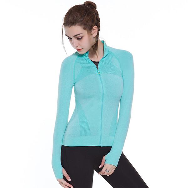 Gym Compression Women Tights Sport Jerseys Sweatshirt T-Shirt Fitness Women Gray Rose Blue Long Sleeve Yoga Top Tees Shirt Femme
