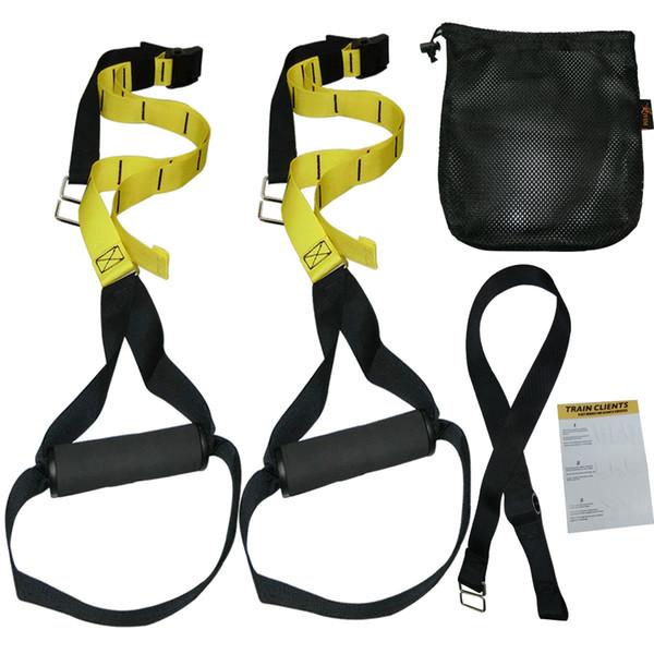 Resistance Bands Hanging Training Strap Elastic Bands for Fitness Gym Suspension Exercise Rope Workout Crossfit Equipment Belt