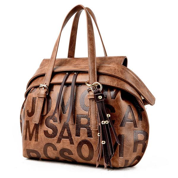 Loodial Handbags brand high quality New Tassel Bag leather Shoulder Bags Multi-functional Lady Bag Messenger female