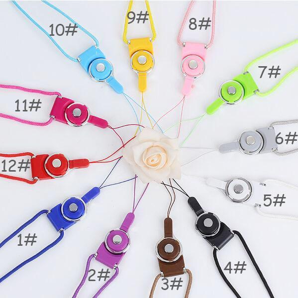 best selling Universal Lanyards Neck Lanyard Long Straps Nylon Hang Rope for MP3 Mp4 ID Holder Mobile Phone Cellphone mobile phone lanyard hang rope