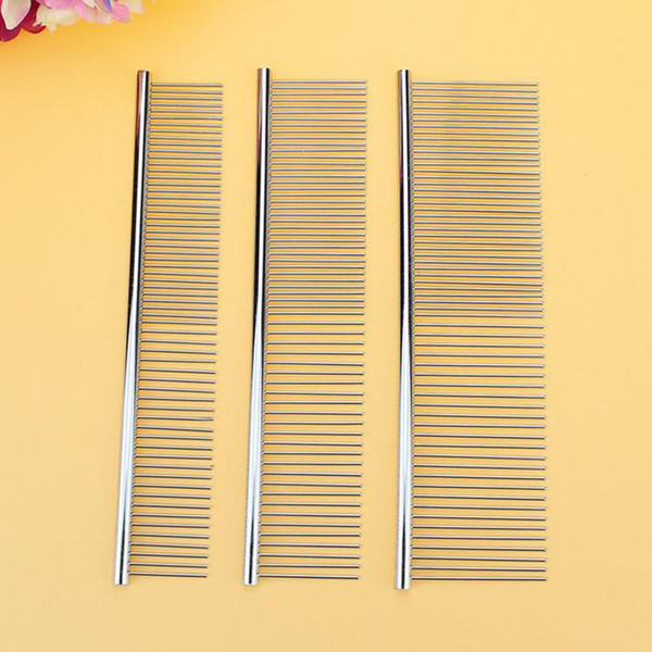 100pcs Pet Cat Grooming Comb For Chihuahua Shaggy Dogs Barber Grooming Tools Long Thick Fur Removal Brush Free Shipping ZA3784