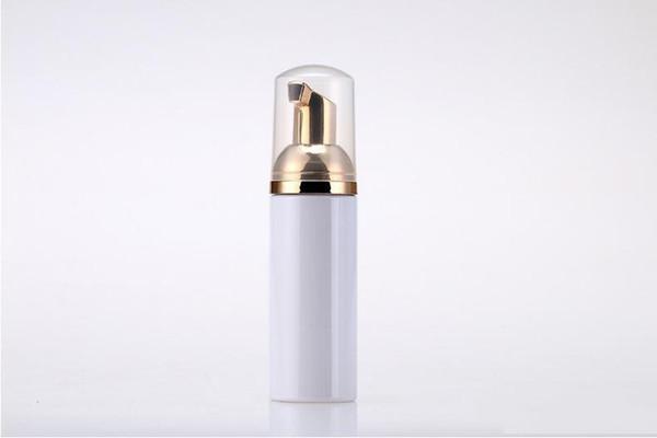 50 ml Plastik Foamer Şişe Pompası beyaz sıvı Sabunluk altın foamer ile en ucuz Köpük şişe