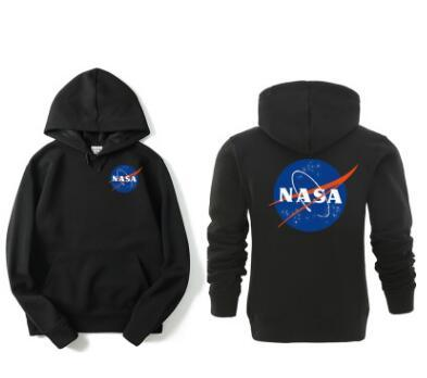 best selling Autumn winter new popular logo hot style NASA series of letter-head hoodie jacket sport loose hoodie for men and women coat