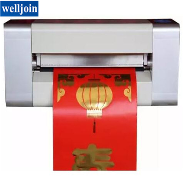 NEW!!LY 400A foil press machine digital hot foil stamping printer machine for color business card printing