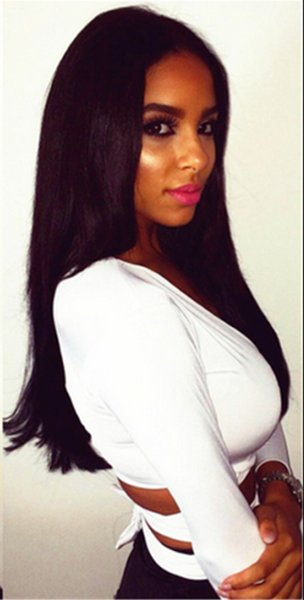 Top Quality Wholesale Silky Straight Wig Human Hair Full Straight Wigs For beautiful Women In Stock