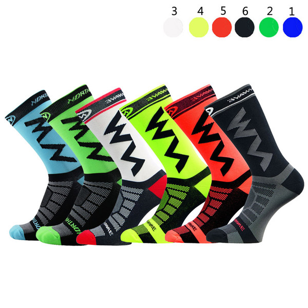 ZFLAMER High Quality Professional Brand Sport Socks Breathable Road Bicycle Socks Outdoor Sports Racing Cycling Footwear