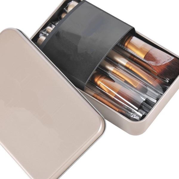 Vente chaude maquillage 12 Pcs / set brosse NUDE 3 Kit de pinceaux de maquillage Ensembles pour fard à paupières fard à joues Cosmetic Brushes TooL DHL Livraison gratuite