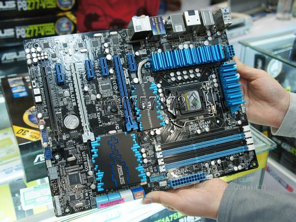 Pour Asus P8Z77-V DELUXE Carte mère de bureau LGA 1155 Intel Z77 HDMI SATA 6Gb / s ATX Systemboard