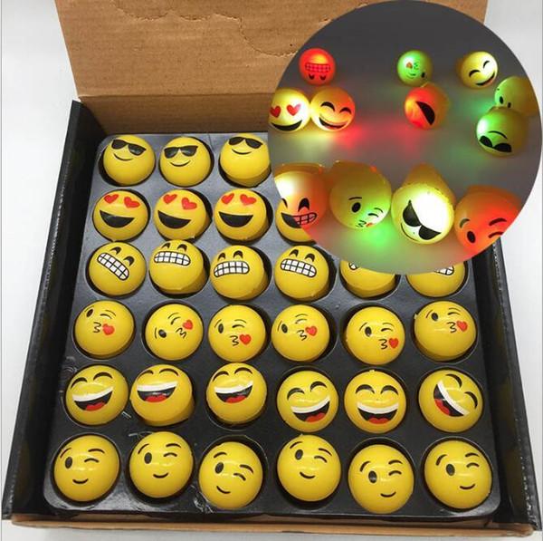 Manufacturer Sales LED Smile Finger Light LED Eyeball Finger Ring Gift Light Glow Laser Finger Beam LED Flash Ring Party Flash Kid Toy