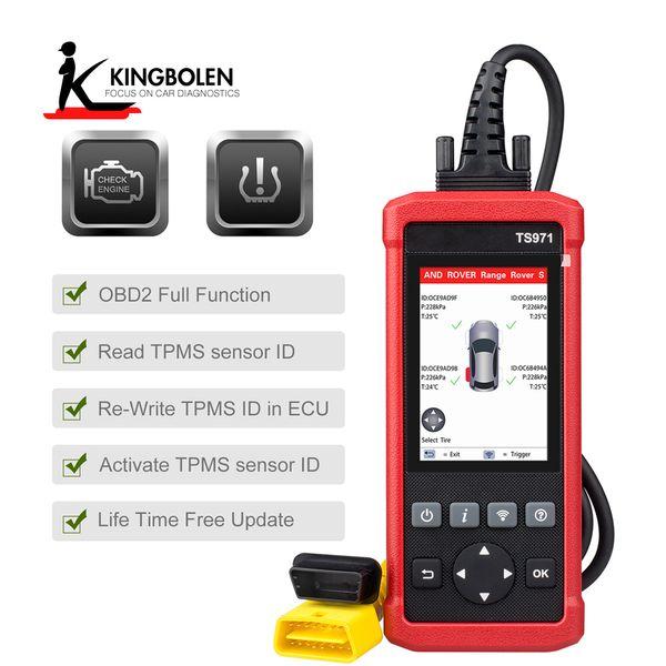 Car Tire Pressure Sensor Monitoring LAUNCH TS971 TPMS Bluetooth Activation Tool Wireless for Sensor 433Mhz/315Mhz PK TS401