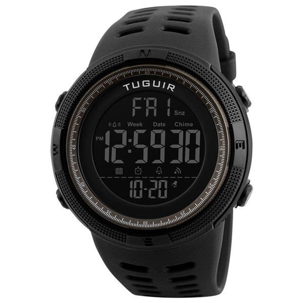 Berühmte marke TUGUIR 1251 einfache casual clock wasserdichte männer digitale uhr sport multifunktions damen uhr relogio masculino