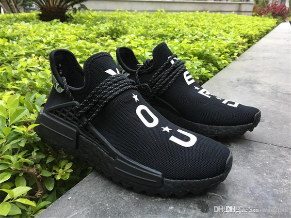 quality design 82df8 b571e 2019 HUMAN RACE NMD TR BY PHARRELL WILLIAMS TRAIL YOU NERD PALE NUDE/CORE  BLACK NMDS ORIGINALS RUNNING SHOES SNEAKERS From Liujianfeng47, $154.96 |  ...