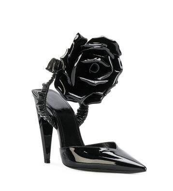 Sexy High Heels Sandals Stylish Black Flower Women Pumps Evening Party Dress Shoes Night Out Clubwear Sandals 2018 Stylish Stiletto Heels