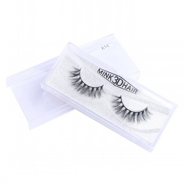 High Quality 3D Mink Eyelashes 19 Styles Selectable Real Handmade Comfortable Soft Full Strip Lashes Free Shipping