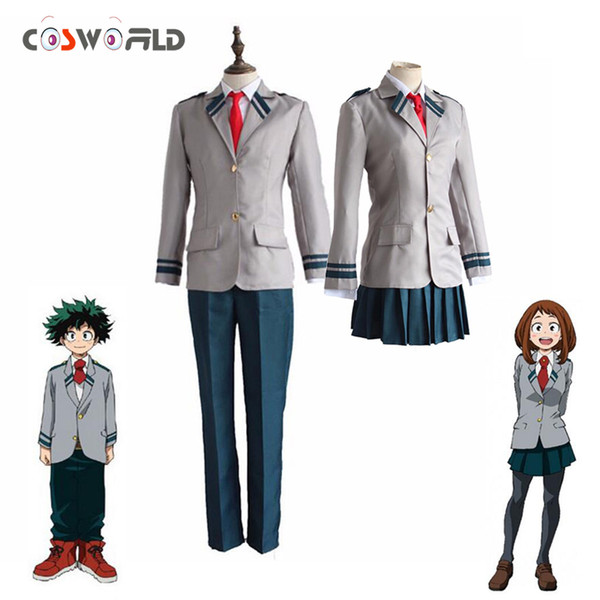 Coshome Anime Boku No Hero Academia Cosplay Midoriya Izuku Bakugou Katsuki Cosplay Costumes My Hero Academia Jacket Uniforms Custom Cosplay Makers