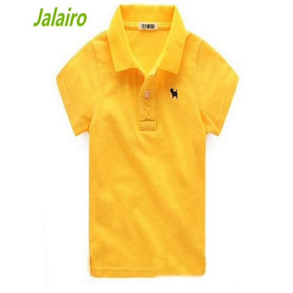 2016 Summer Baby Boys Polo Shirts With Collar Fashion Cotton Kids Shirt Children Sport Shirts Brand Top Quality 2 -10