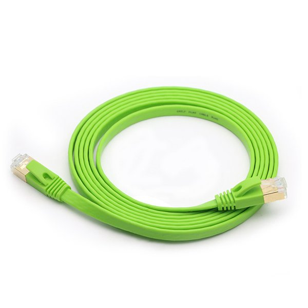 top popular Cat7 Ethernet Cable Network lan Cable For Laptop Router Digital Set-Top Box Switch ADSL Modem Smart TV RJ45 Cable 2021