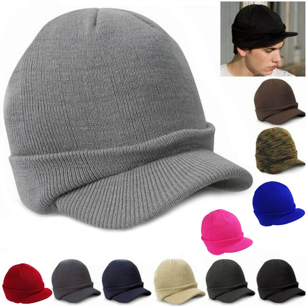 9a968142168 Men Women Knit Baggy Oversize Winter Hat Slouchy Chic Baseball Cap Y107  Visors Millinery From Fashionkiss