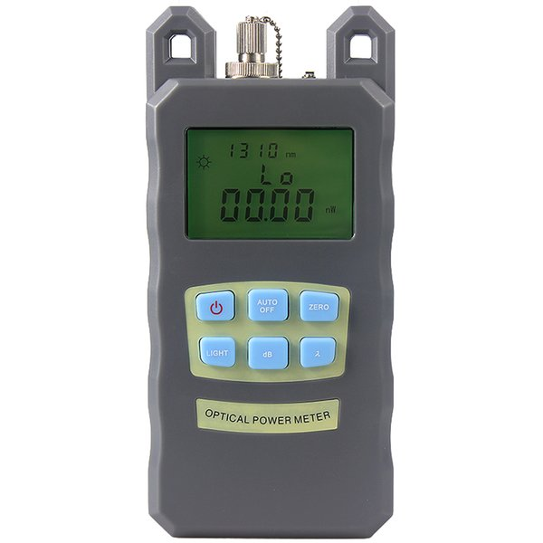 New Fiber Optic Optical Power Meter Cable Tester Networks With FC/SC connectors -70~+10dBm