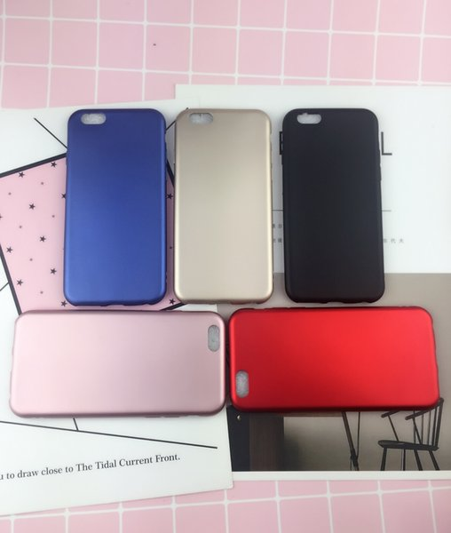 New Touch Paint Shell China Red Mobile Phone Soft Shell Red Metallic Paint  Package Tpu Fuel Cell Phone Case Cases For Cell Phones Cell Phone Carrying