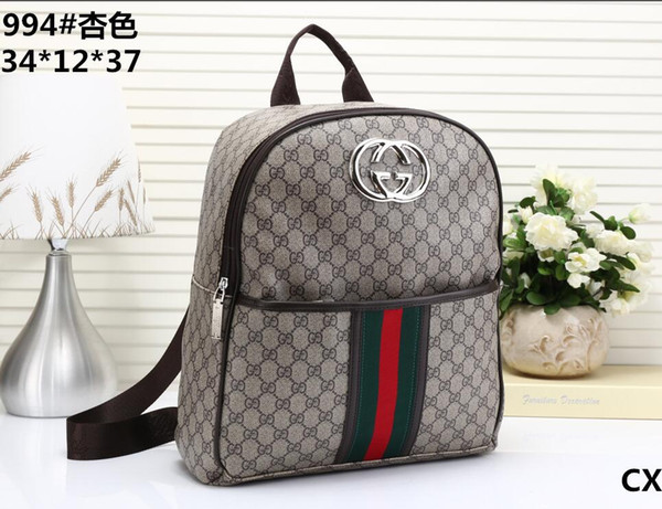 Fashion Designer backpack 2018 New G Embroidery Tiger head men & women backpack 3Abrand Fashion Bags Fast shipping