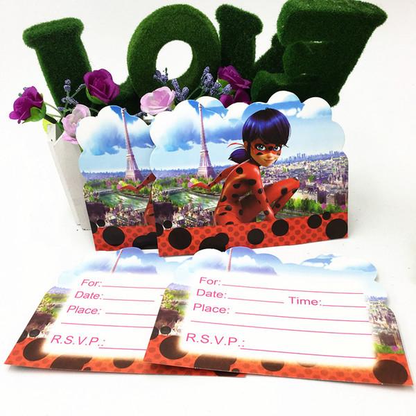 Compre 10 Unids Lote Tema Invitaciones Tarjeta Baby Shower Fiesta Invitación Tarjetas Feliz Cumpleaños Fiesta Invitaciones A 26 62 Del Baibuju8