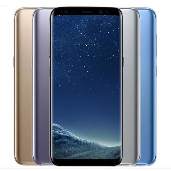 Оригинальный Samsung Galaxy S8 + Восстановленное S8 Plus G955F G955U 6,2 дюйма окта сердечника 4 Гб оперативной памяти 64 Гб ROM 3500mAh 4G Lte мобильного телефона Свободный DHL 5шт
