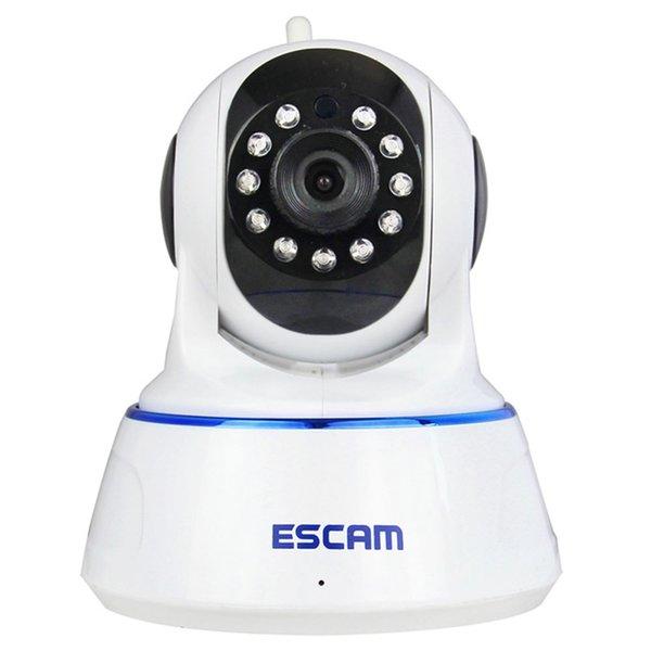 ESCAM QF002 Cámara IP WIFI 720P P2P Visión Nocturna Soporte Android IOS para la Seguridad de la Empresa Doméstica