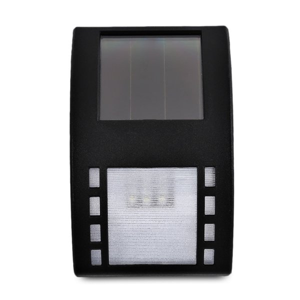 LED Solar Garden Lamp Optical Control Lighr Turn On Automatically at Night Wall Mount LED Light Outdoor Garden Path Landscape