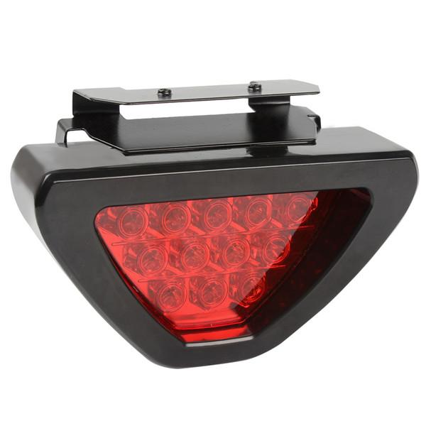 e Luces traseras del automóvil Luz de freno Lámpara antiniebla Universal Rojo LED Bombillas de flash Luz de advertencia automática para camiones Estilo de automóvil