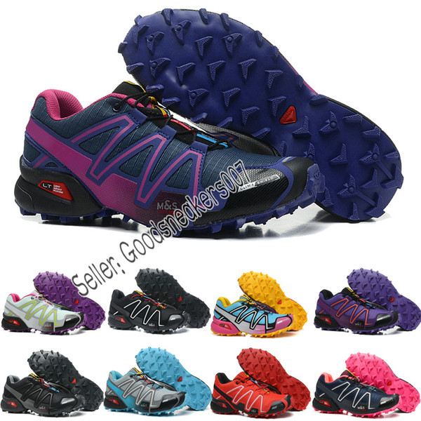 Outdoor Sport Turnschuhe Damen Pro Laufschuhe Salomon Women Ein Großhandel 3 Jogging Men Shoes Mode Trail Peedcross Designer Schuhe LGpqVSUzM