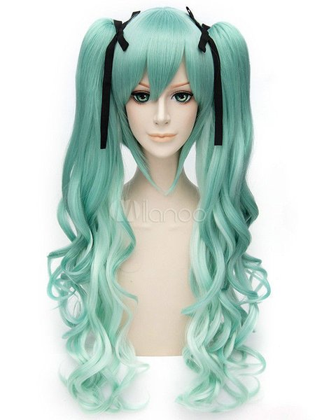 Perruque Cosplay Vocaloid Ombres Hatsune Miku