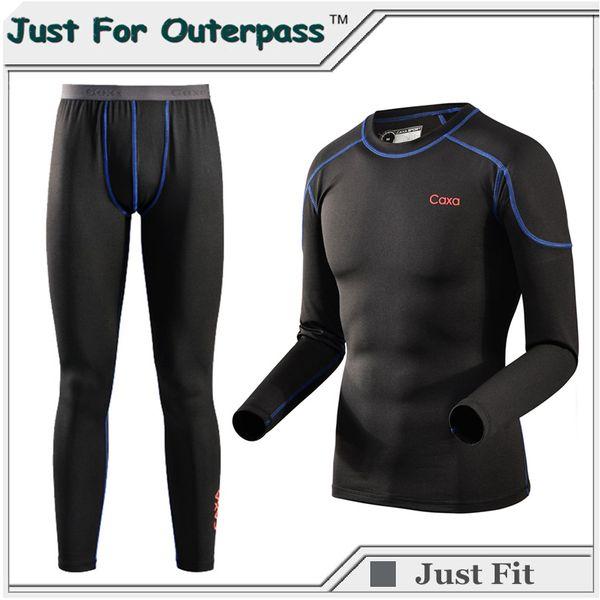 Nuovo marchio di alta qualità termica intimo set uomo inverno Thermo Sleepwear morbido confortevole tratto caldo lungo Johns