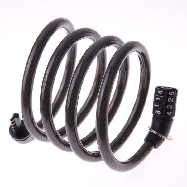 NEW Bike Bicycle Cable Combination Lock 4 Digital Code Security Password