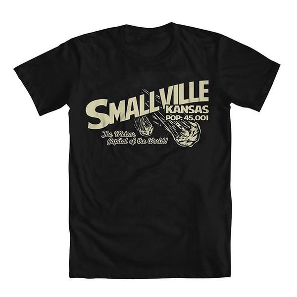 Smallville White T-shirt Men/'s Tee Size S to XXXL