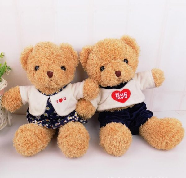 TEDDY BEAR Plush toys Hold pillow cartoon Stuffed Plush doll baby Gifts Creative cute doll Christmas birthday present Valentine's Day