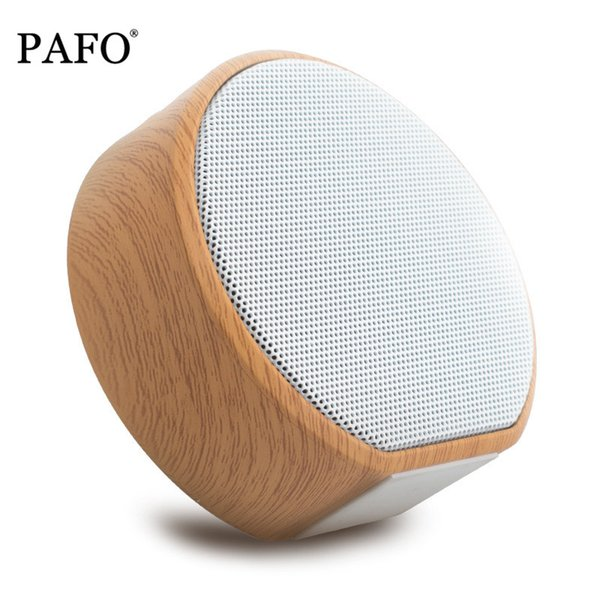 wood Wooden Grain Bluetooth 4.2 wireless bluetooth speaker FM Radio Aux in HiFi stereo portable mini bluetooth Speaker #2