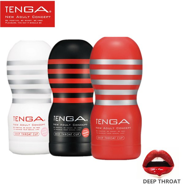 TENGA Japanese Realistic Sex Cup Pussy Oral 3D Deep Throat Artificial Vagina Male Masturbator Oral Sex Toys Products for Men S19706