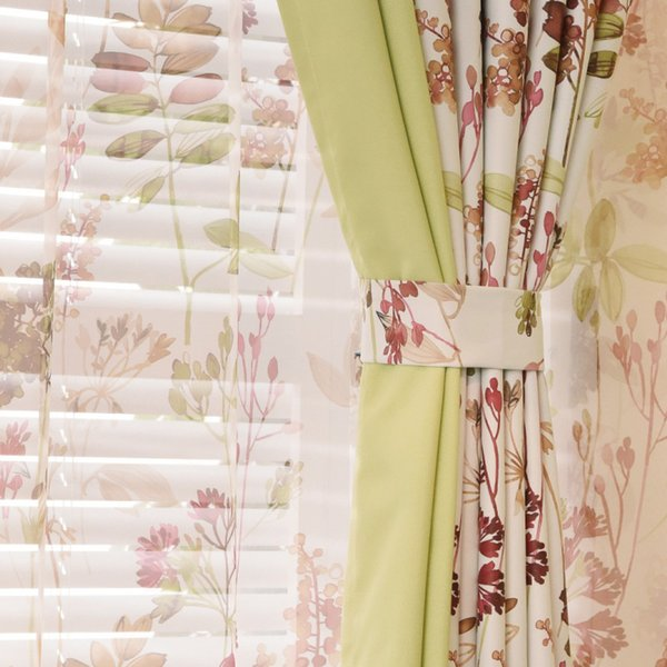 curtain Blackout velvet cotton and linen stitching simple modern living room bedroom screens